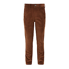 Buy John Lewis Heirloom Collection Boys' Corduroy Trousers, Rust Online at johnlewis.com