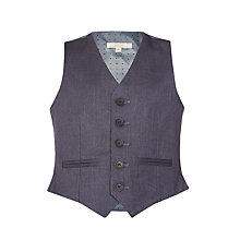 Buy John Lewis Heirloom Collection Boys' Suit Waistcoat, Grey Online at johnlewis.com