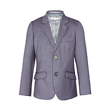 Buy John Lewis Heirloom Collection Boys' Suit Jacket, Grey Online at johnlewis.com