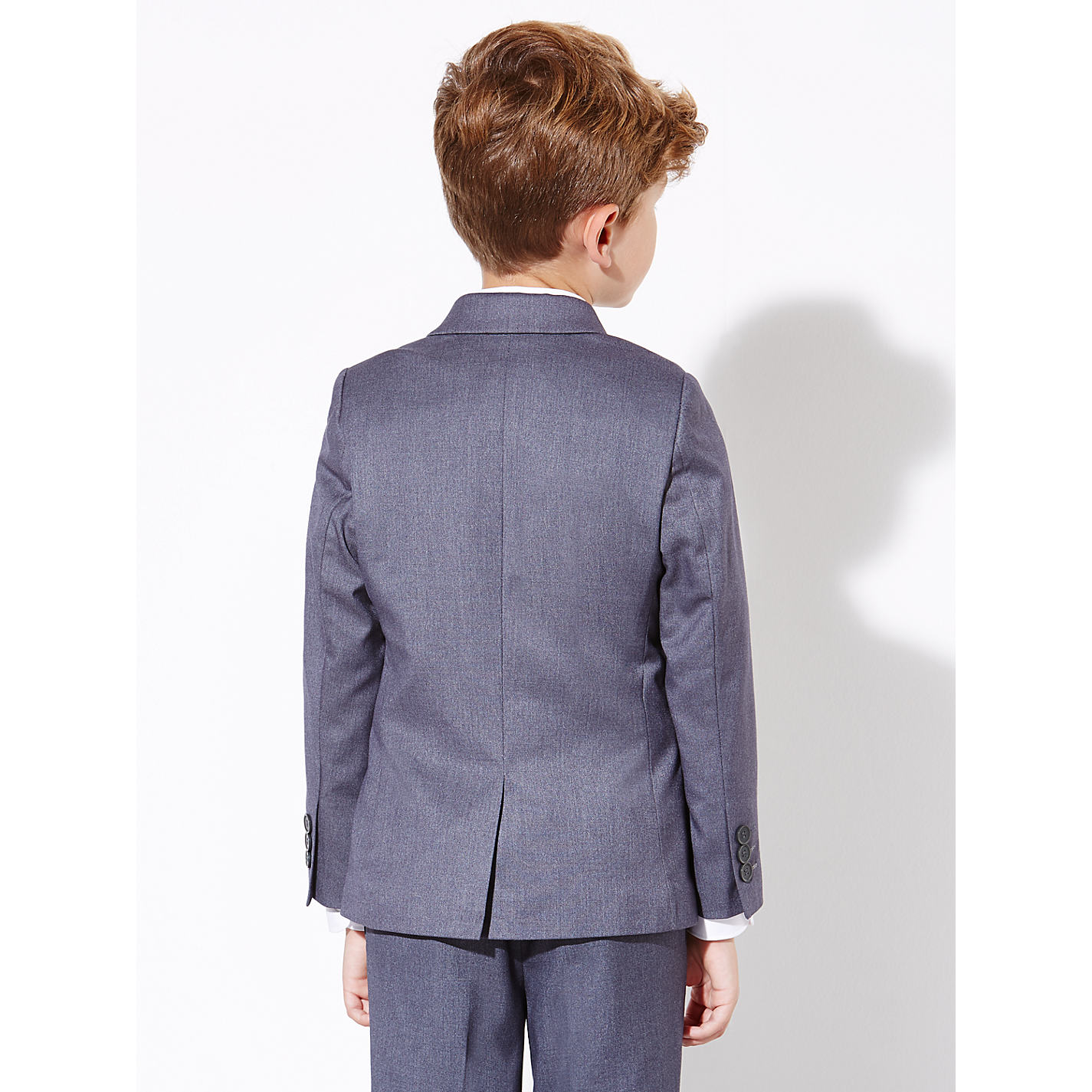 john lewis heirloom collection boys suit jacket grey john #0: alt2 prod exlrg