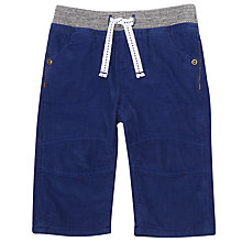 Buy John Lewis Baby Ribbed Corduroy Trousers, Blue Online at johnlewis.com