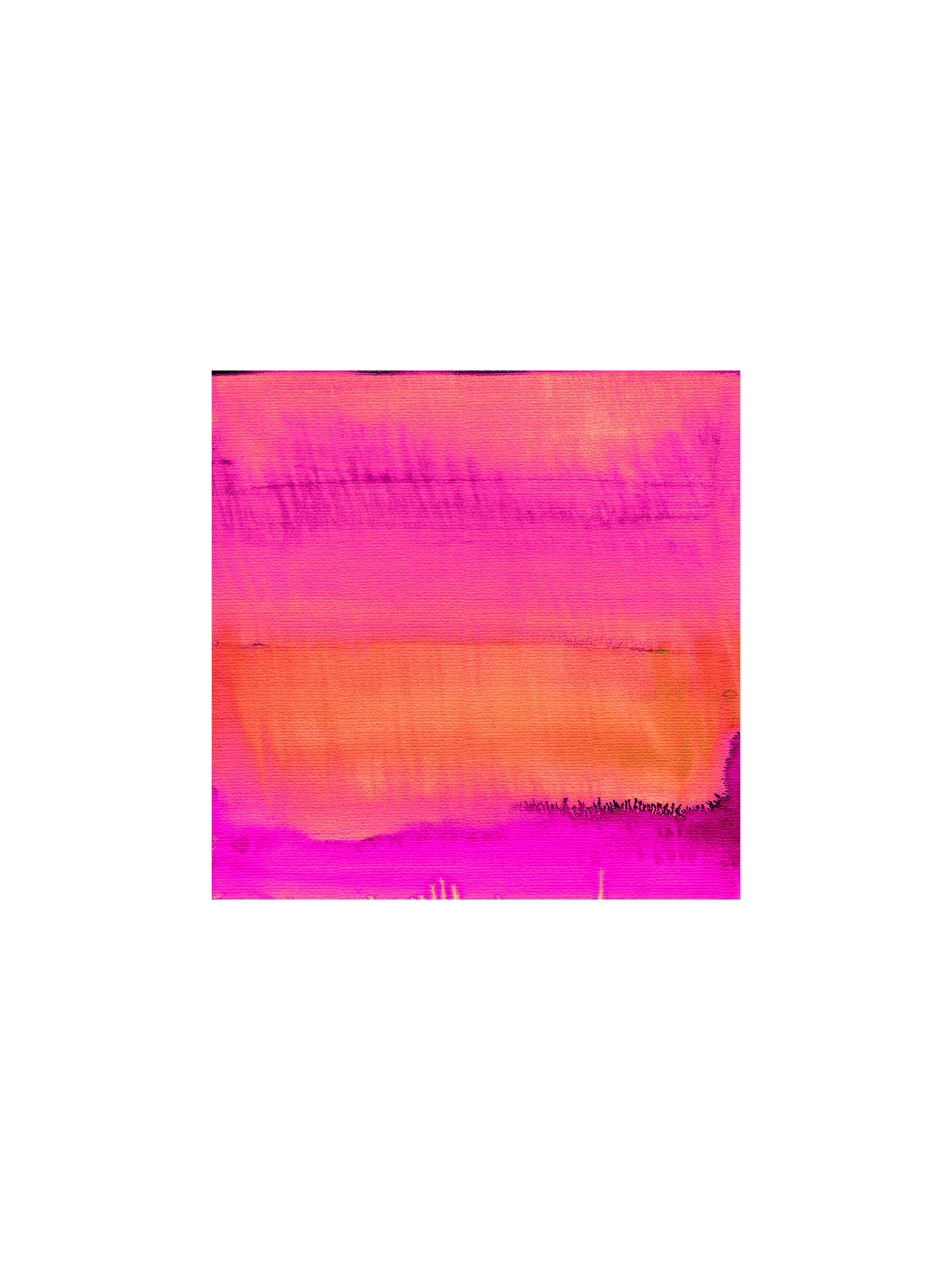 Buy Amy Sia - Sunset, Stretched Canvas, 40 x 40cm Online at johnlewis.com