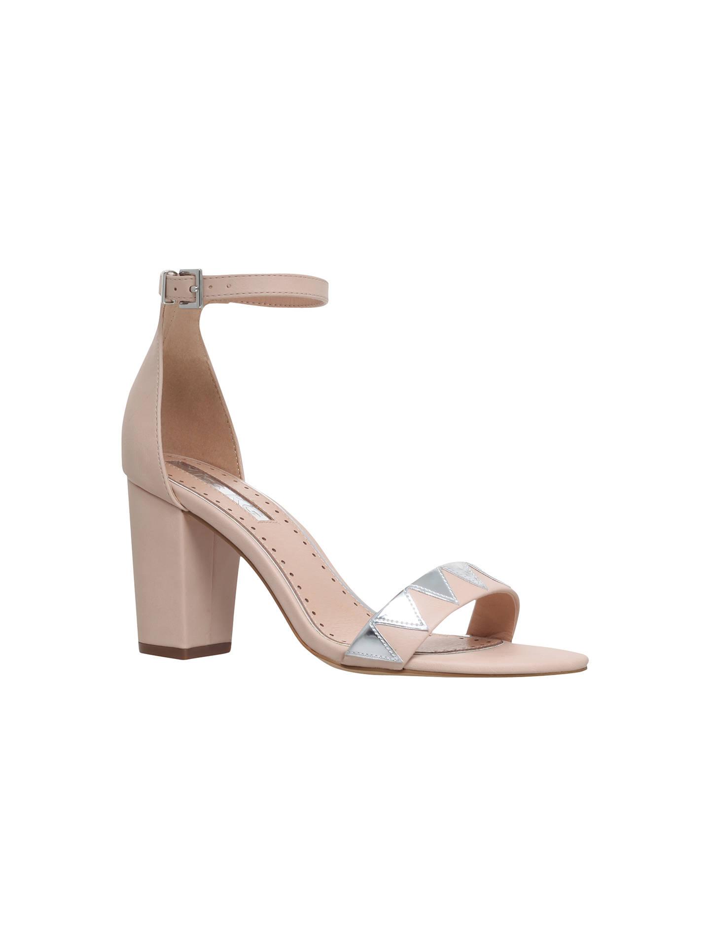 568aa4dcd31 Miss KG Faye Block Heeled Sandals, Nude at John Lewis & Partners