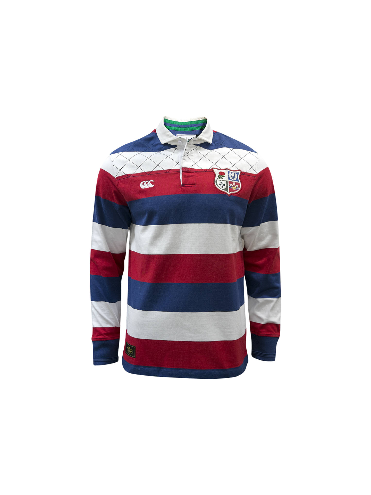 Canterbury Of New Zealand British Lions Long Sleeve Classic Rugby
