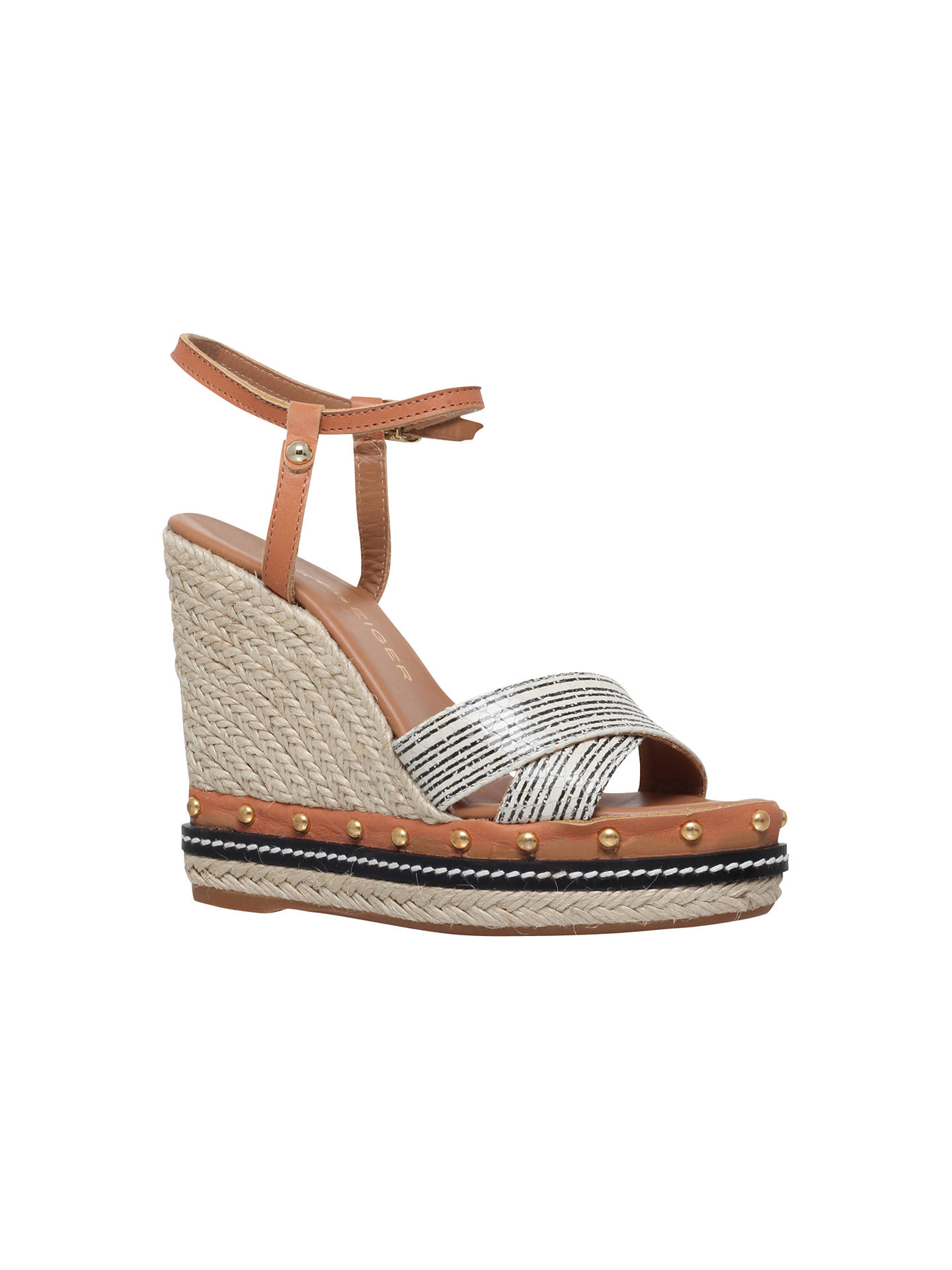 a5c9658d2f88 BuyKurt Geiger Aria Wedge Heeled Sandals