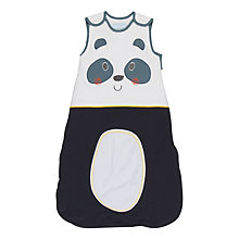 Buy Grobag Baby Panda-Modium Sleep Bag, Black/White Online at johnlewis.com