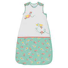 Buy Grobag Floral Flutter Sleep Bag, 1 Togs, White/Multi , Multi, 0-6 months Online at johnlewis.com