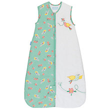Buy Grobag Floral Flutter Sleep Bag, 2.5 Togs, White/Multi Online at johnlewis.com
