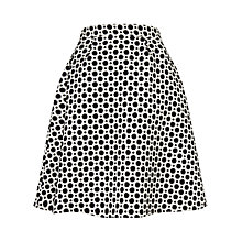 Buy Studio 8 Persia Skirt, Black/White Online at johnlewis.com