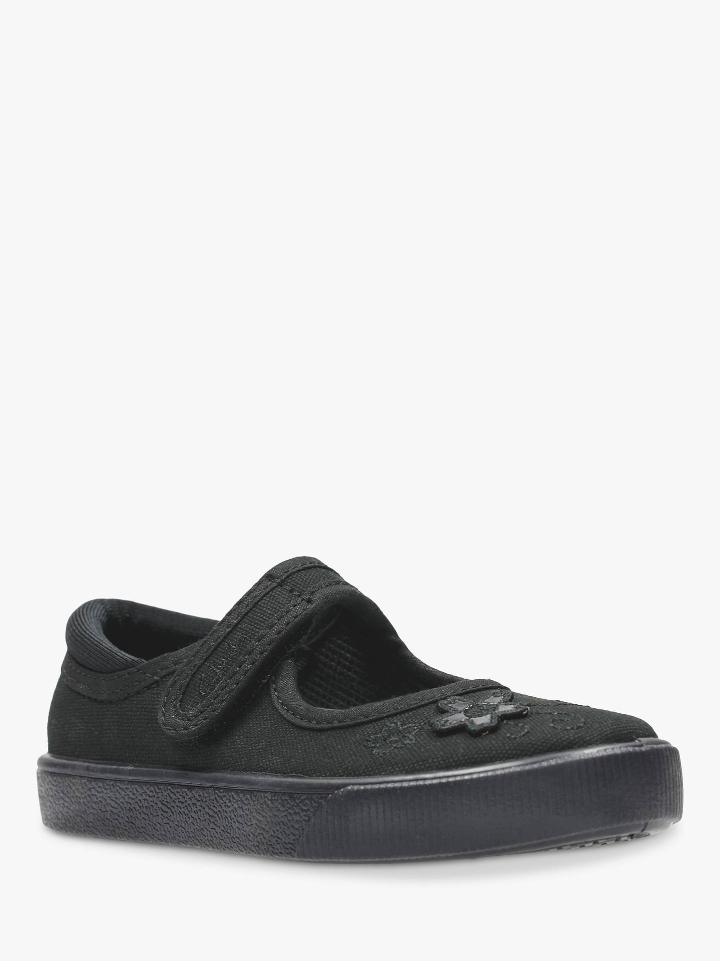 Clothing, Shoes & Accessories Symbol Of The Brand Clarks 10f Girls Plimsoles