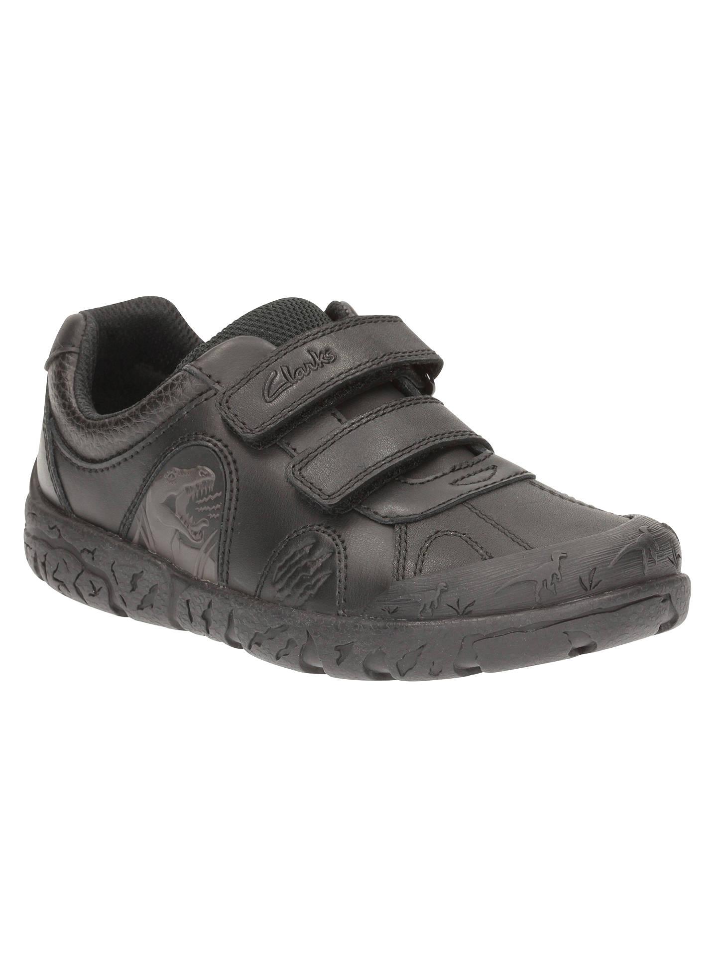 Boys Clarks Dinosaur School Shoes Bronto Step