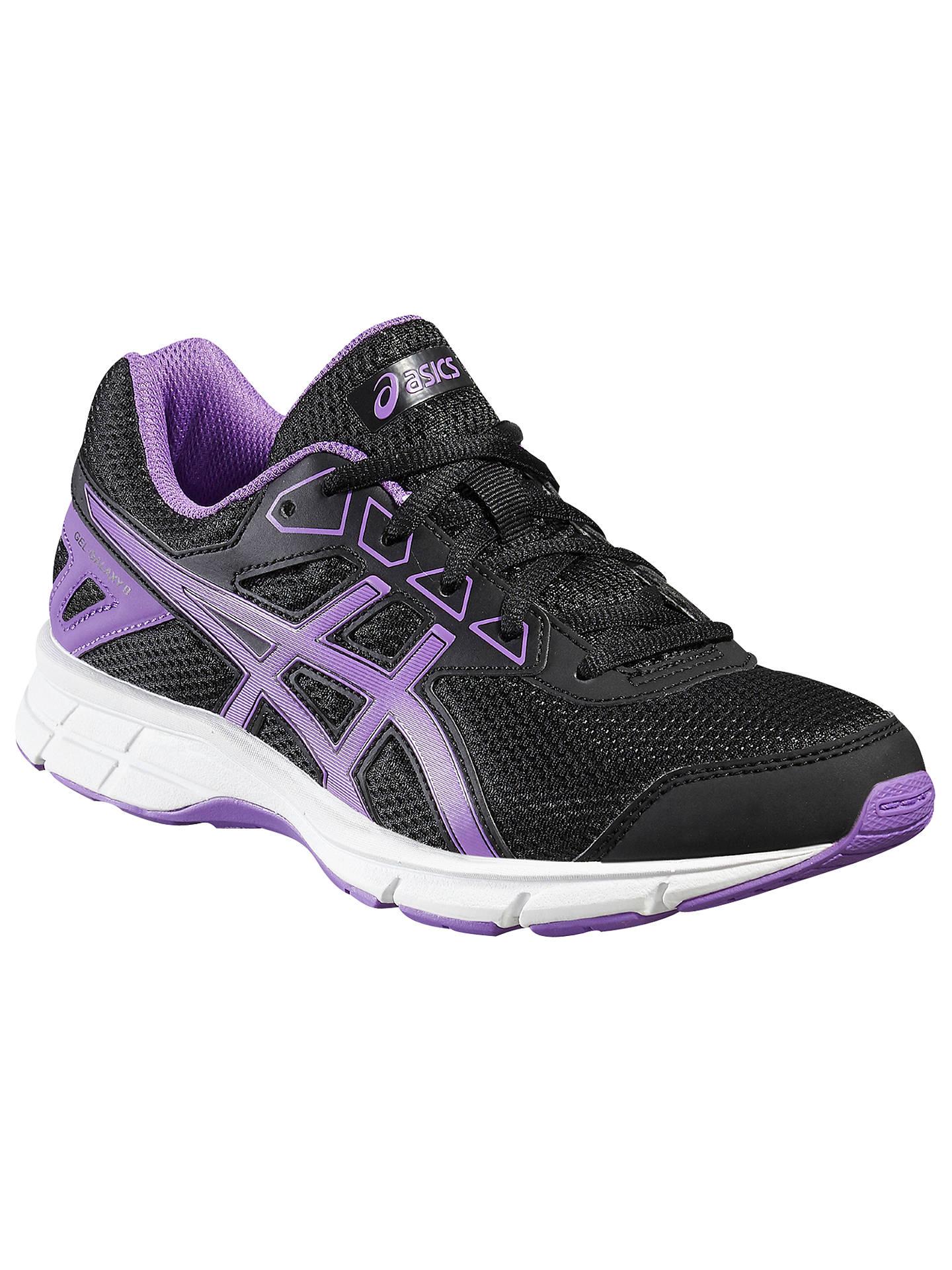4c35c1ee75fee Buy Asics Children's Gel-Galaxy 9 GS Running Shoes, Black/Purple, 3 ...