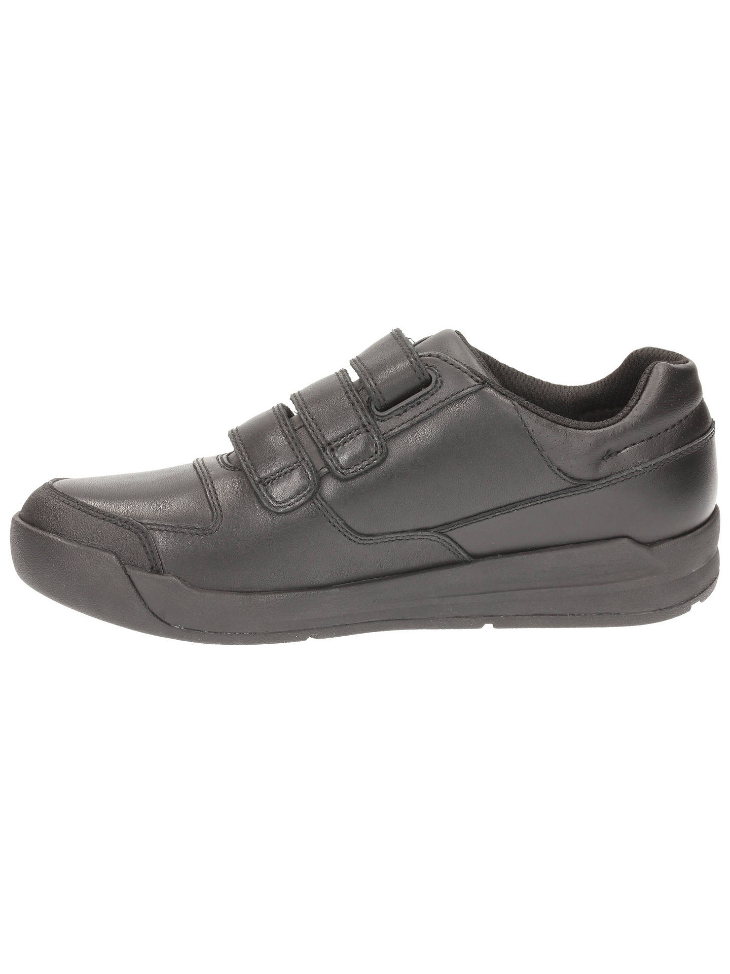 Boys Clarks Flare Lite School Shoes