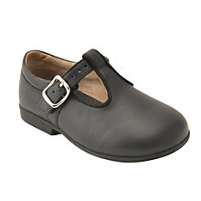 Buy Start-rite Children's Buckled Jo Leather Shoes, Navy Online at johnlewis.com