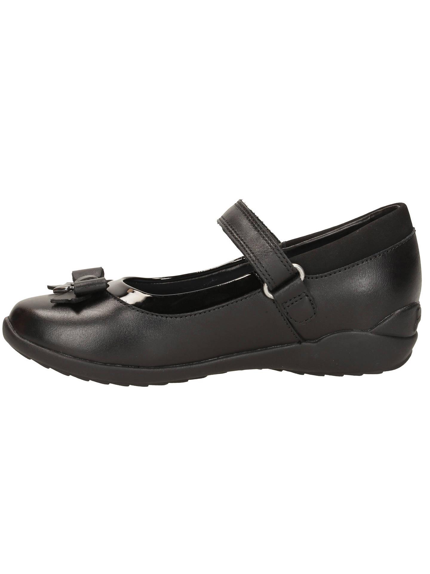 7955a0cf8d5 ... Buy Clarks Children's Gloform Ting Fever School Shoes, Black, 10E Jnr  Online at johnlewis ...