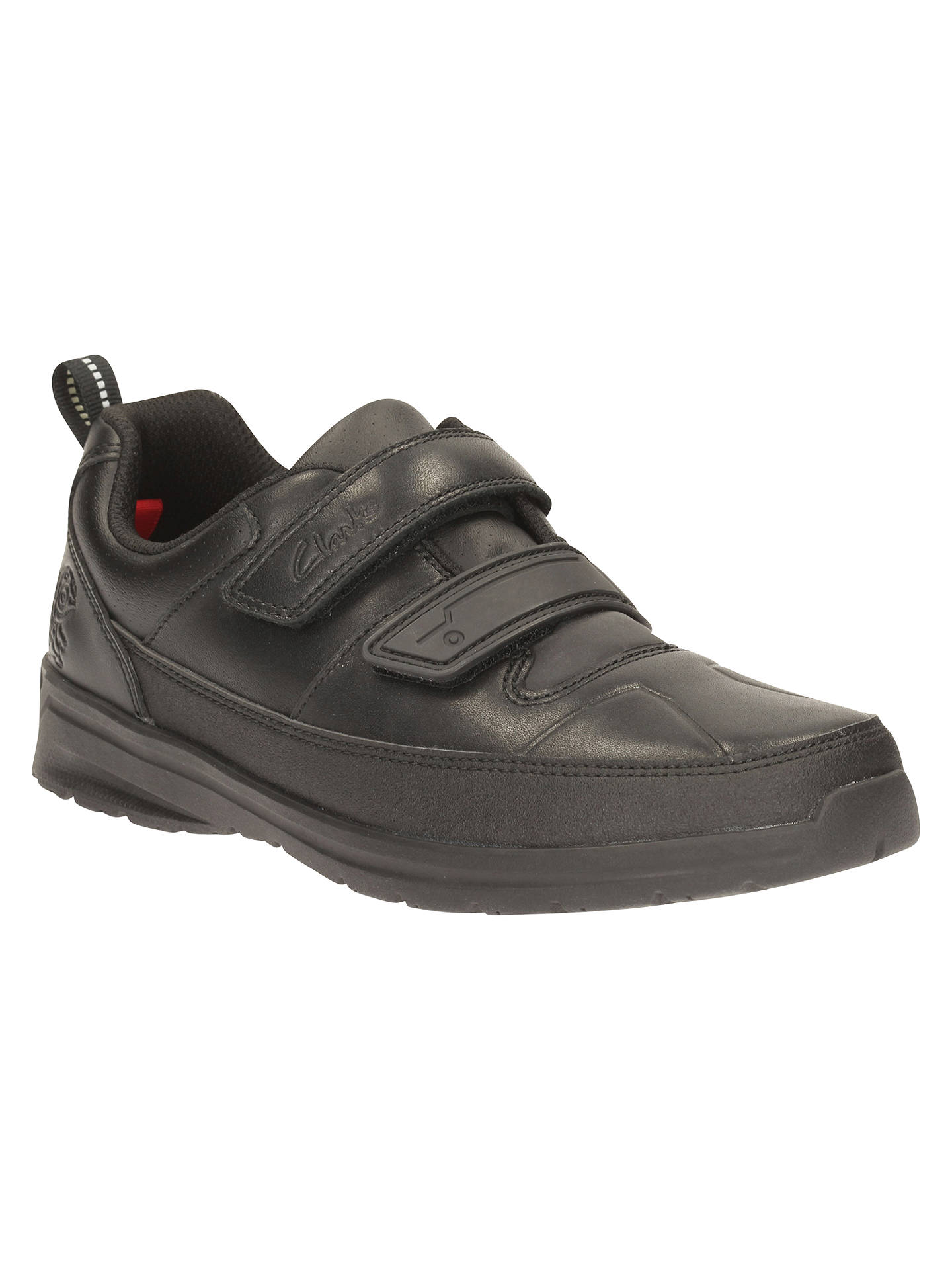 Clarks Children's Gloform Reflect Ace Leather School Shoes ...