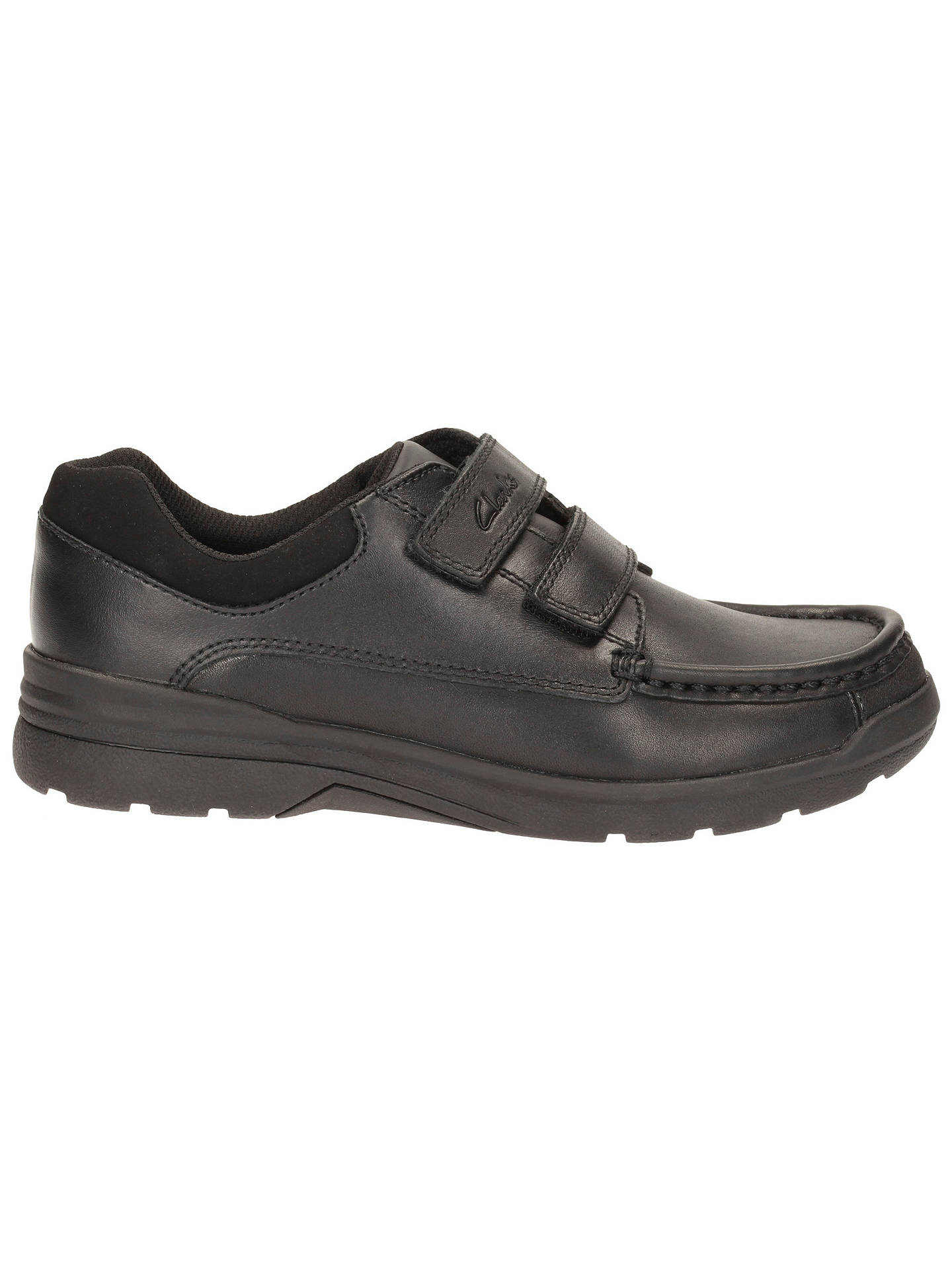 Boys Clarks Leather Smart School Shoes Obie Play