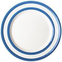 Buy Cornishware Plate, Blue/White Online at johnlewis.com