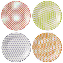 Buy Royal Doulton Pastels Porcelain Plates, Set of 4, Multi Online at johnlewis.com