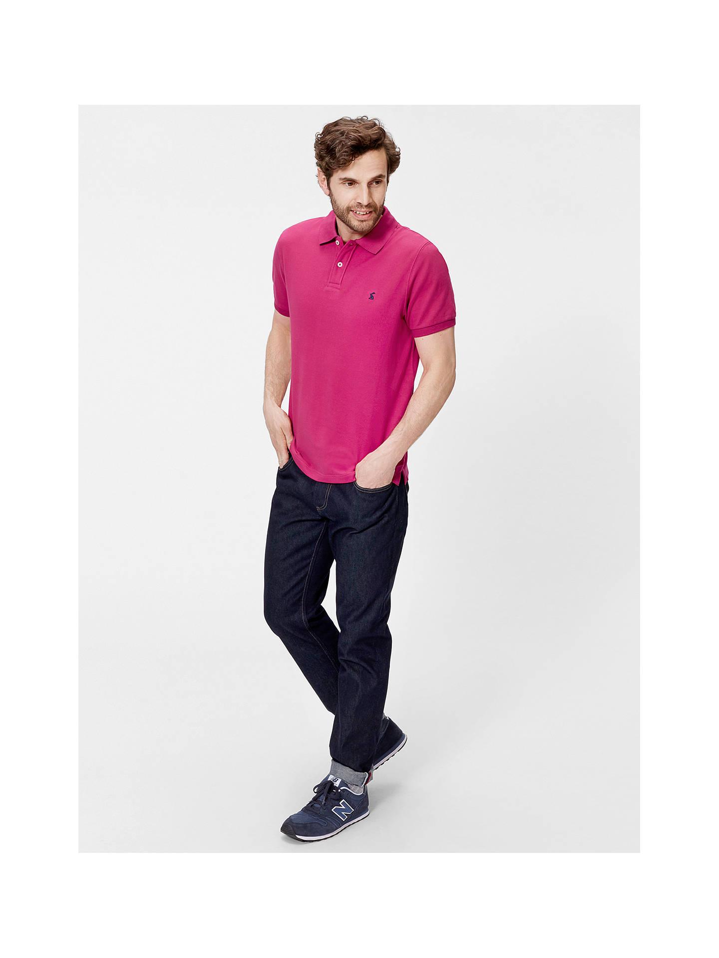 860508337fc Buy Joules Woody Slim Fit Polo Shirt, Dark Ruby, S Online at johnlewis.