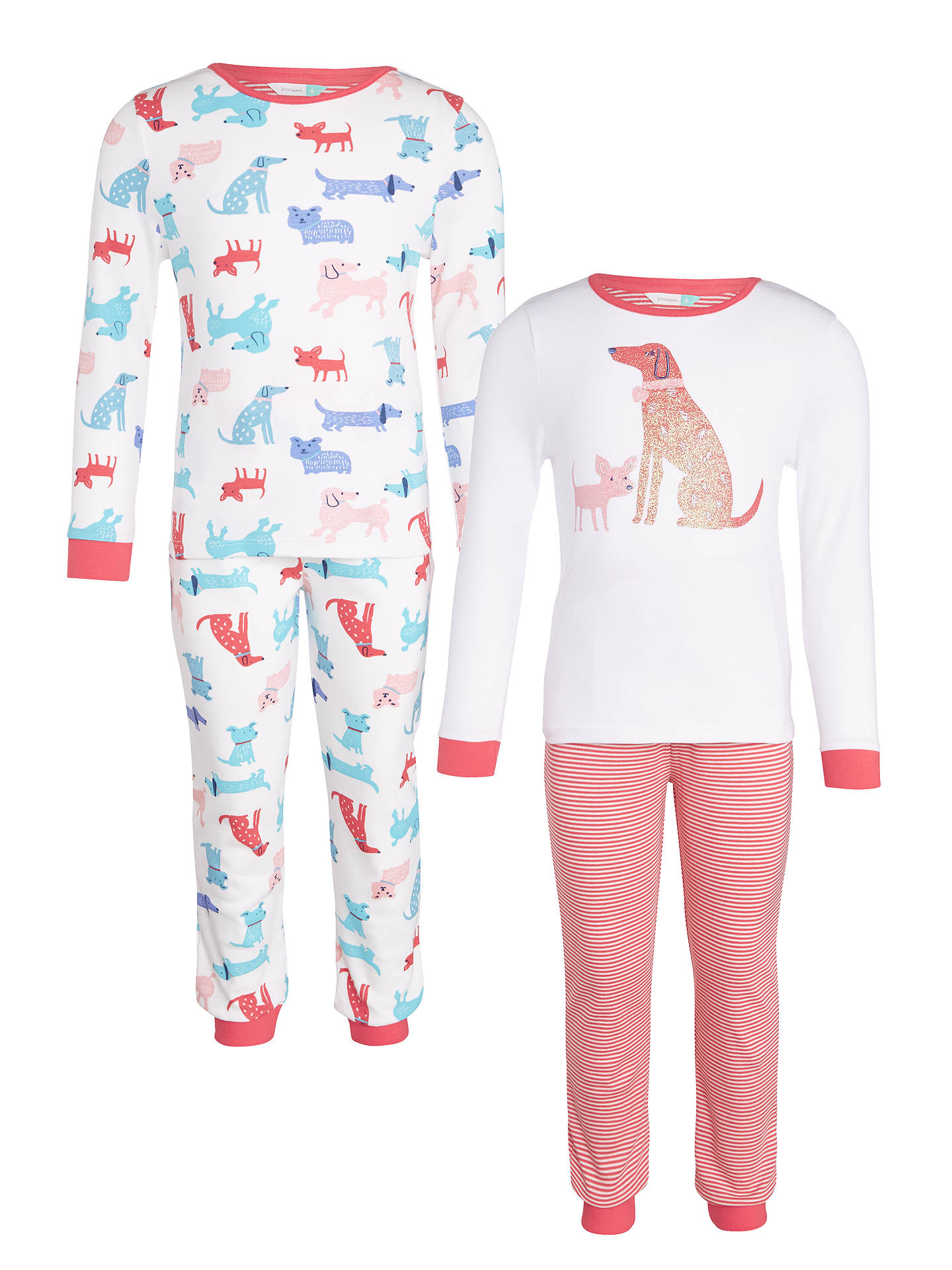 c282279075 BuyJohn Lewis Children s Dog Print Pyjamas