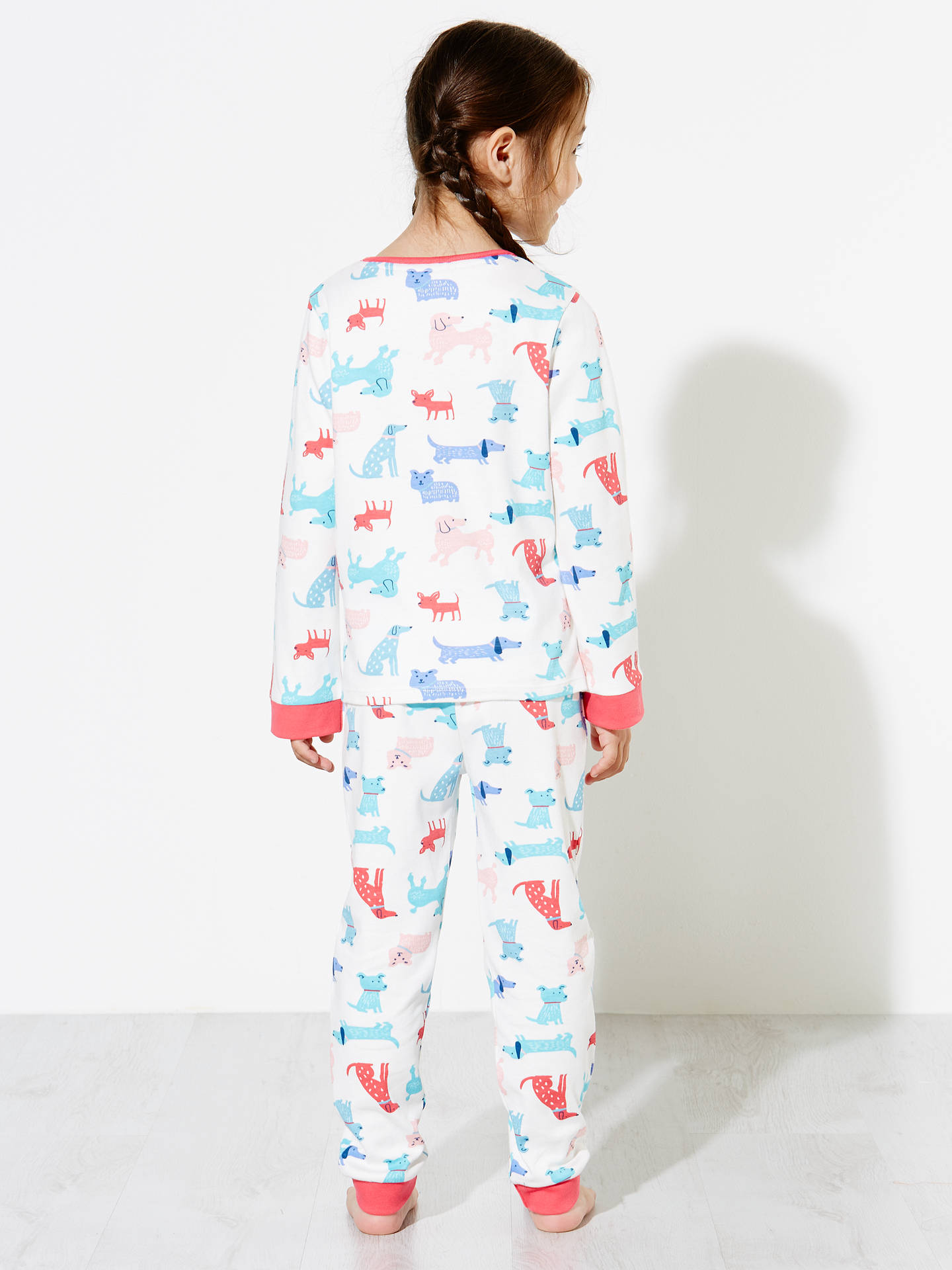 6f5b20fdbc ... BuyJohn Lewis Children s Dog Print Pyjamas