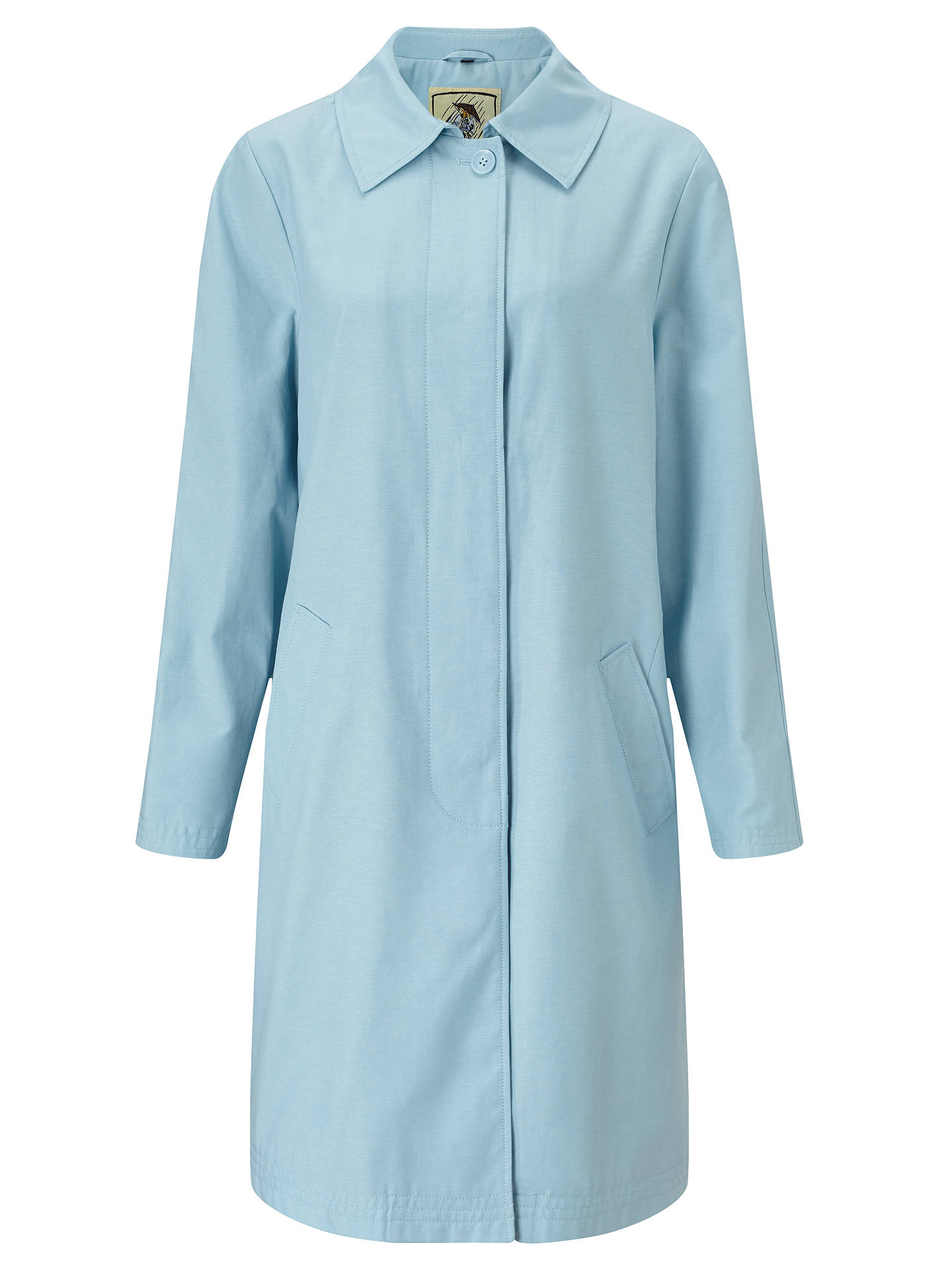 men/man enjoy complimentary shipping new style of 2019 Four Seasons Top Stitch Raincoat at John Lewis & Partners