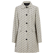 Buy Four Seasons Daisy Print Coat, Multi Online at johnlewis.com