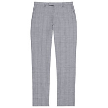 Buy Reiss Buckingham Slim Fit Houndstooth Suit Trousers, Grey Online at johnlewis.com