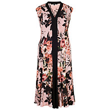 Buy Chesca Rose Print Jersey Dress, Apricot Online at johnlewis.com