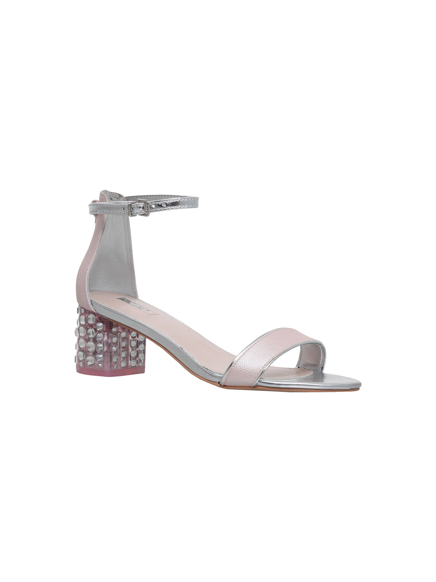 5363ab144ac Buy Carvela Groove Perspex Crystal Detail Mid Block Heel Sandals
