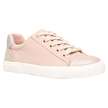 Buy Carvela Light Low Top Trainers, Pale Pink Online at johnlewis.com