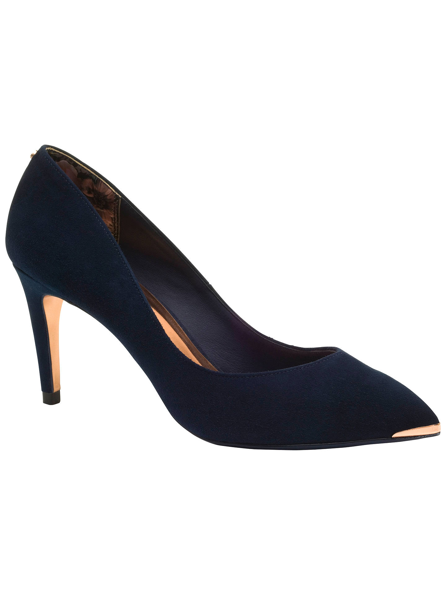 5d1cc198ac6 Ted Baker Monirra Pointed Court Shoes at John Lewis & Partners