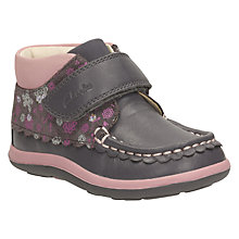 Buy Clarks Children's Alanna Lyn Casual Shoes, Grey Online at johnlewis.com