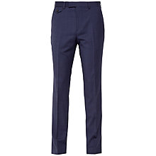 Buy Ted Baker Skipert Salt and Pepper Slim Fit Suit Trousers, Blue Online at johnlewis.com