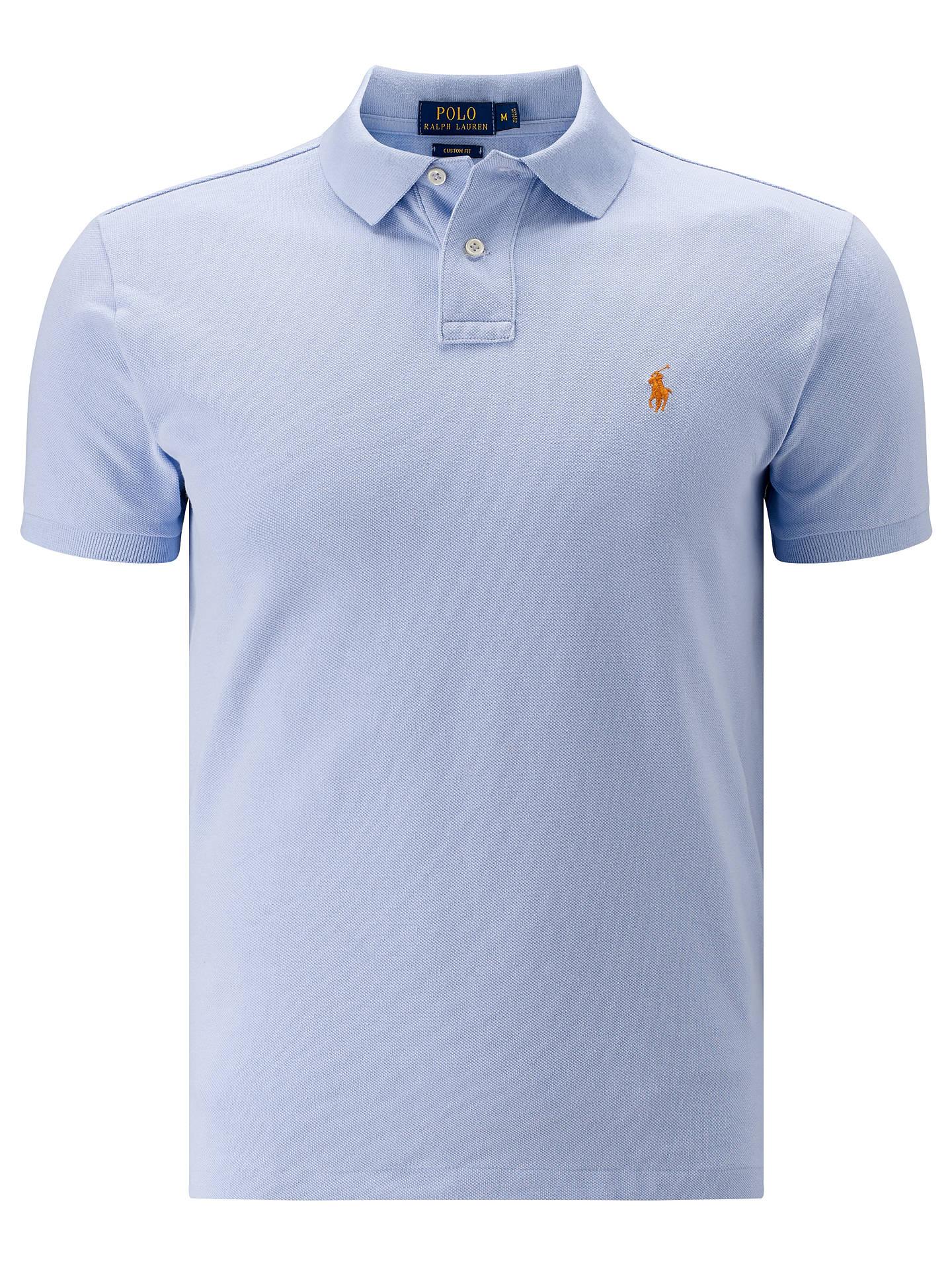 5c653db5fb4c Polo Ralph Lauren KC Custom Fit Cotton Polo Shirt at John Lewis ...