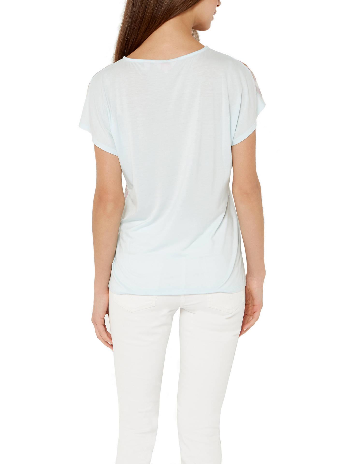 179b127f3 ... Buy Ted Baker Efuna Hanging Garden T-Shirt, Mint, 6 Online at johnlewis