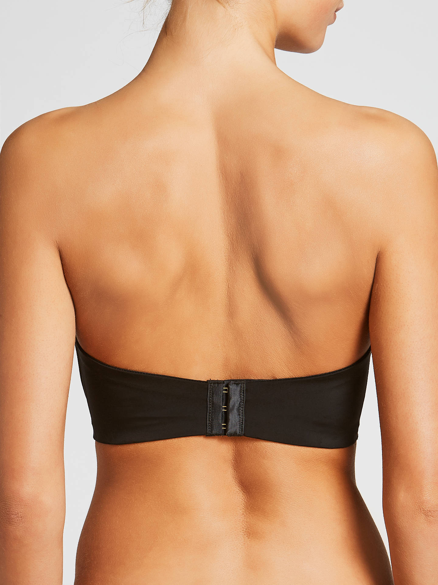 Buy John Lewis & Partners Roxanne Strapless Bra, Black, 30B Online at johnlewis.com