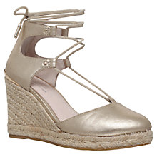 Buy Carvela Kute Woven Wedge Espadrille Sandals Online at johnlewis.com