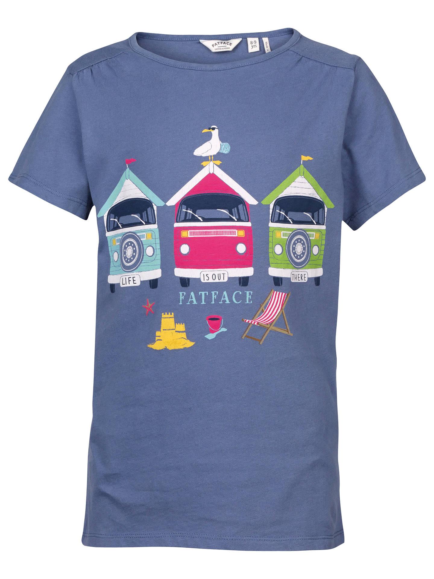 83eaab82637 BuyFat Face Girls  Aloa Beach Hut T-Shirt