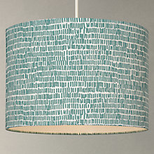Buy John Lewis Minna Cylinder Lampshade, Spruce Online at johnlewis.com