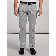 Buy BOSS Green Maine Jeans, Light Grey Online at johnlewis.com