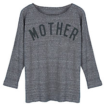 Buy Selfish Mother Mother Slub 3/4 Length Sleeve T-Shirt Online at johnlewis.com