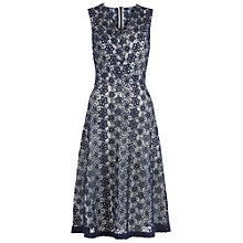 Buy Damsel in a dress Lace Dress, Navy Online at johnlewis.com