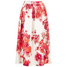 Buy Damsel in a dress Preppy Full Skirt, Cream/Red Online at johnlewis.com