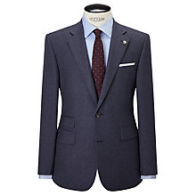 Buy Chester by Chester Barrie Flannel Wool Tailored Suit Jacket, Airforce Online at johnlewis.com