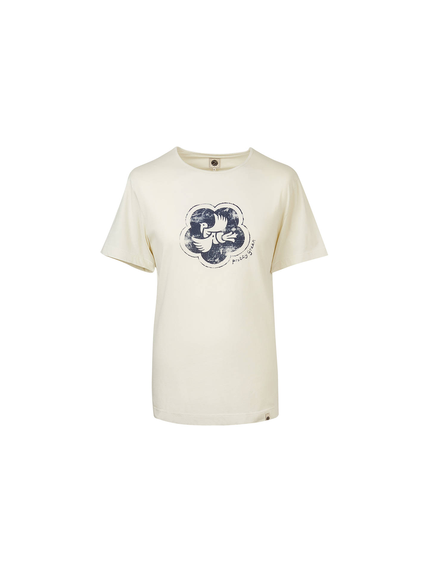 10eb4002af6 Buy Pretty Green Peace Badge T-Shirt