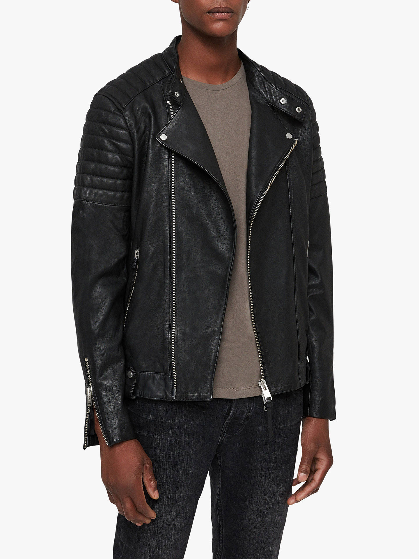 b8eb244406 BuyAllSaints Jasper Leather Biker Jacket