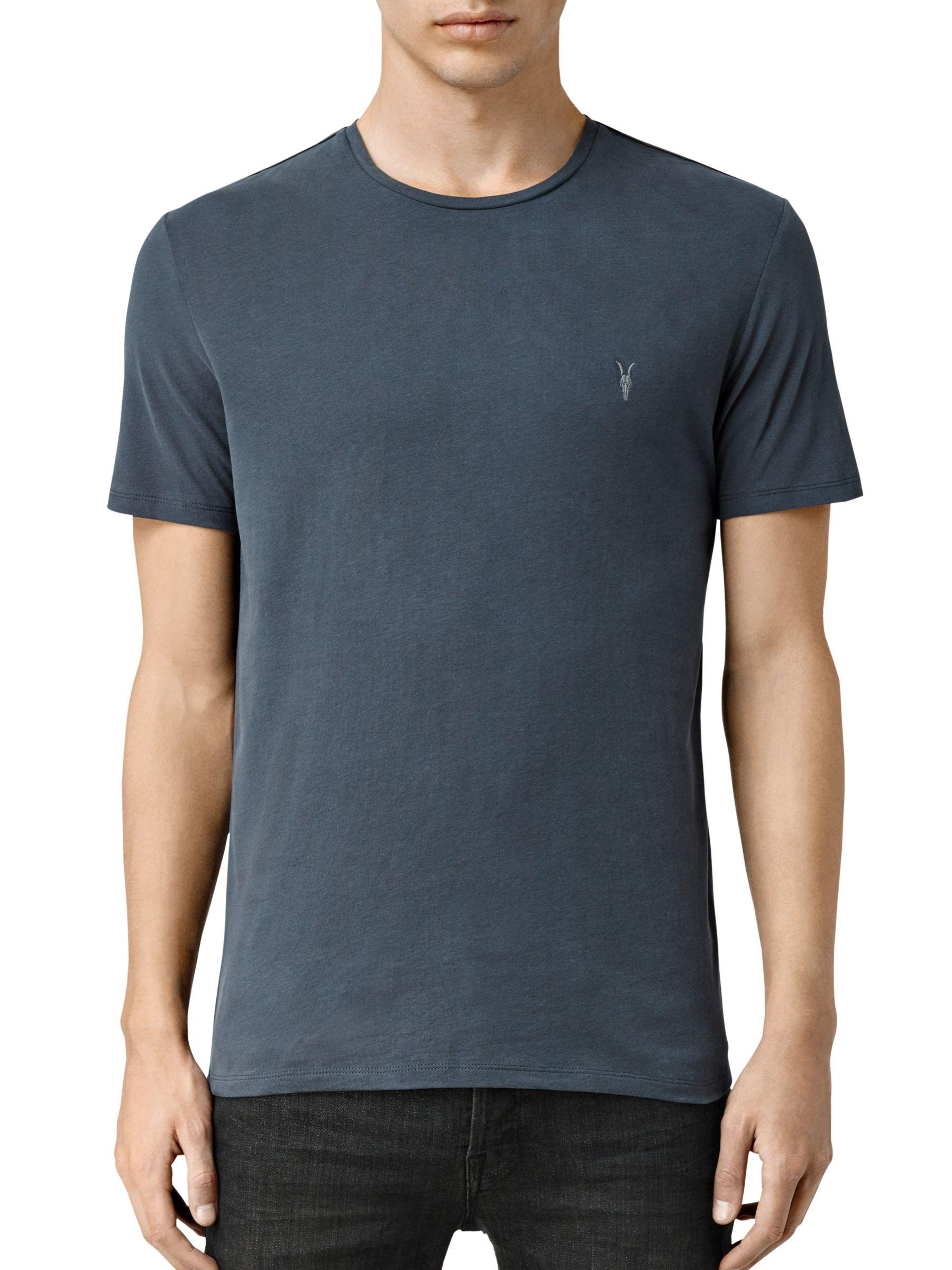AllSaints Brace Tonic Crew Neck T Shirt at John Lewis & Partners