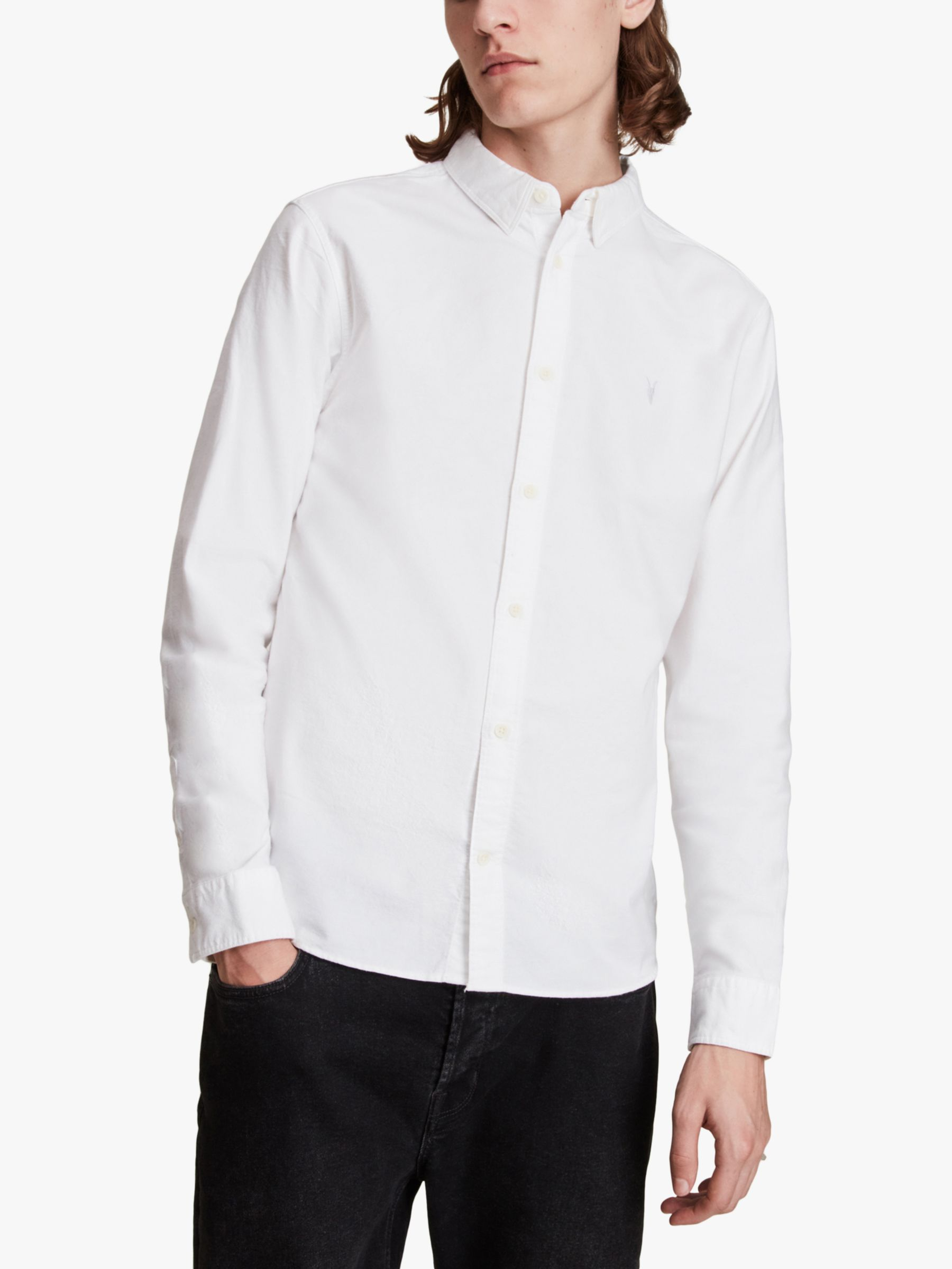 AllSaints AllSaints Hungtingdon Slim Fit Shirt